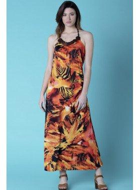 Neckholder-Kleid