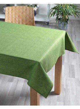 Tischdecke uni grün 140x180cm - 1 - Ronja.ch
