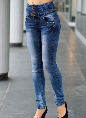 D-5P-Jeans,Corsett-Bund Blue D 34 050 - 1 - Ronja.ch