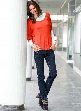 5-Pocket-Jeans Kontrastnähte