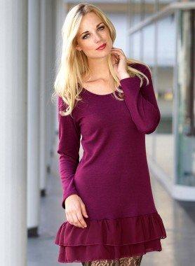 Kleid Tüll-Applikationen
