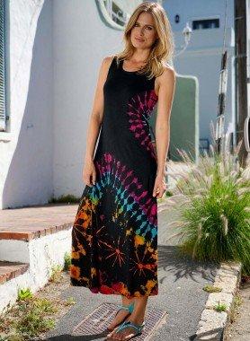 D-AL-Kleid,Batik Multicolors L 058 - 1 - Ronja.ch