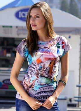 D-KA-Shirt *ITALIA* multicolor L 058 - 1 - Ronja.ch