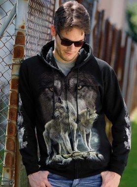 """Sweat-Jacke """"Wolf"""""""
