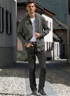5-Pocket-Hose, Reissverschluss, Gurtschlaufen
