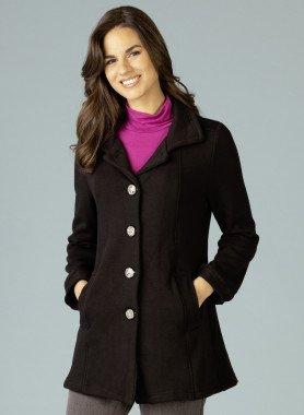 Mantel, tailliert