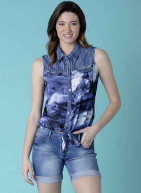 5-Pocket-Jeans-Shorts, Umschläge