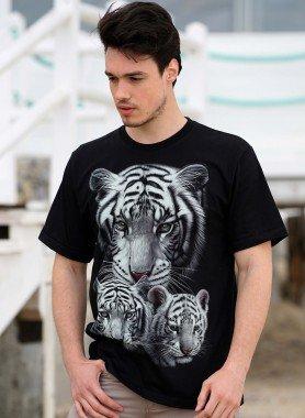 Kurzarm-Shirt, Tiger