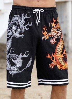 Bermuda-Shorts, Drachen