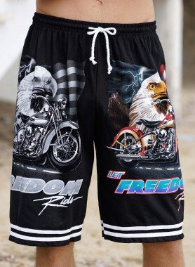 Bermuda-Shorts, Adler/Bike