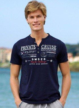 "Kurzarm-Shirt ""PRIV.CRUISE"""