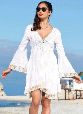 Kleid, Spitzen