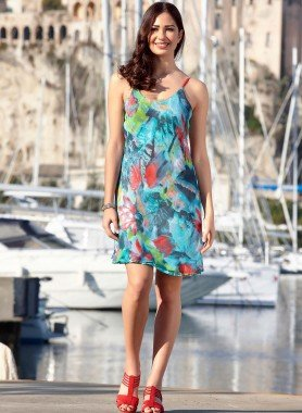 Träger-Kleid, reversibel