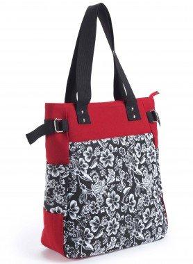Tasche Floral-Print