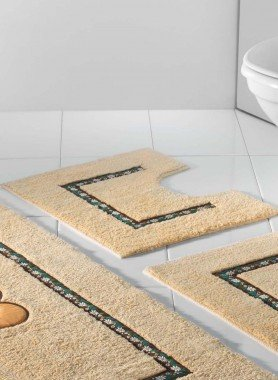 """WC-Vorlage mit Ausschnitt """"Edelweiss"""""""