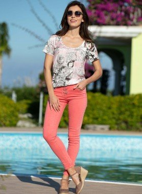Colors-Jeans, Knitter-Optik