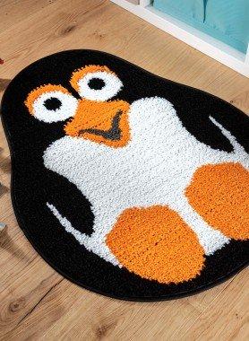 Kinderteppich Pinguin