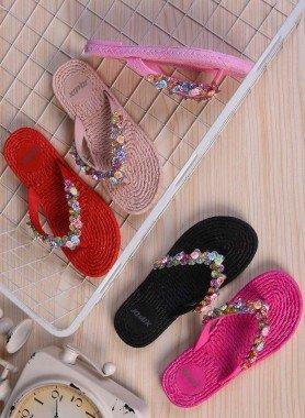 Sandalette, Flechoptik