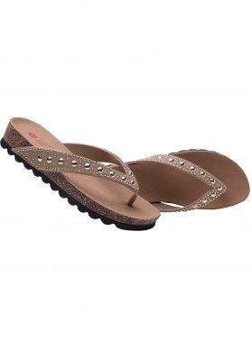 Sandalette, Chromnieten