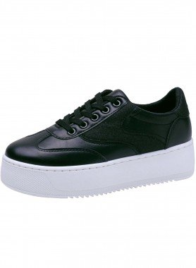 Sneaker, hohe Sohle