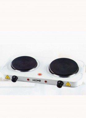 Elektrische Doppel-Kochplatte