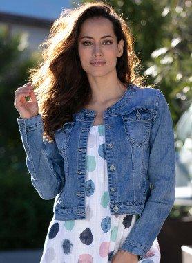 Jeans-Jacke, Blue-Denim