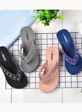 Sandalette, Ziersteine