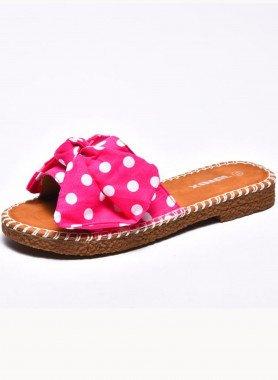 Sandalette, Tupfen