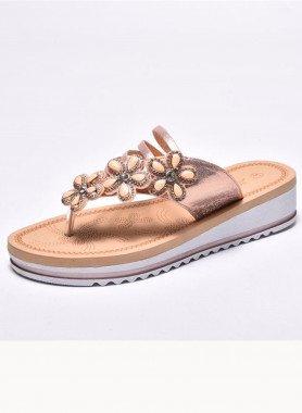 Sandalette, Keilabsatz