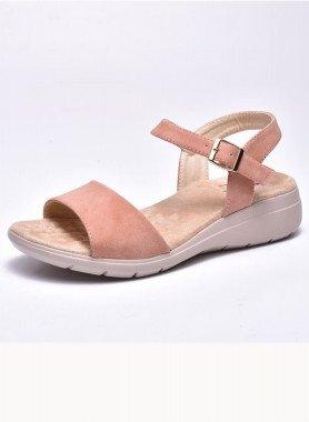 Sandalette, Fussbett