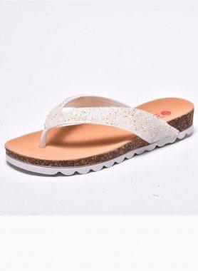 Sandalette, Glitzersteine