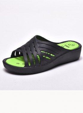 Sandalette, Flecht-Optik