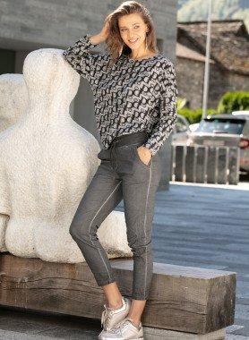 Hose, Knitter-Look