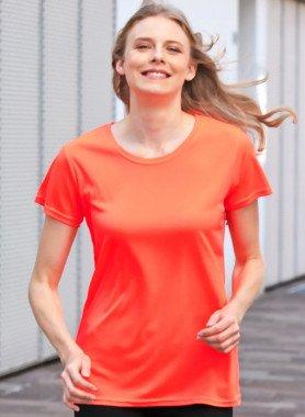 Kurzarm-Shirt, Neon