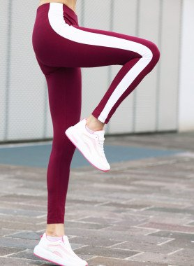 Sport-Leggings, Streifen