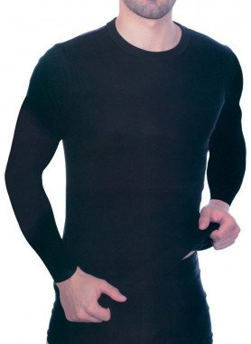 Shirt, Langarm, Rundhals, 2 Stück