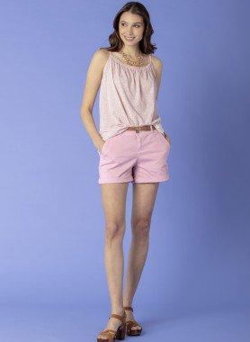 Shorts mit Gurt