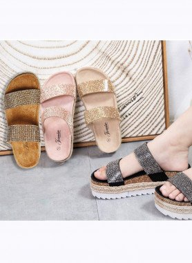 "Damen-Sandalette ""Kroko"""