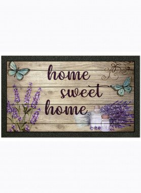 "Fussmatte ""home sweet home"""