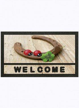 "Fussmatte ""welcome"""