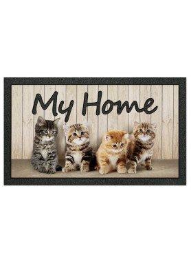 """Fussmatte """"My Home"""" Kätzchen"""