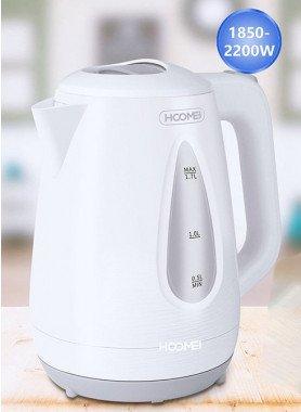 Wasserkocher, weiss 1,7 Liter