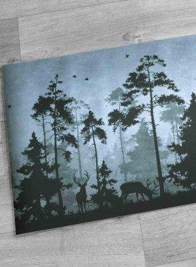 """Küchenteppich DiGITAL """"Wald"""""""