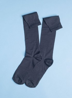 Unisex-Knie-Socken, 4 Paar