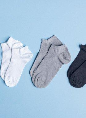 Unisex-Sneakers tief, 5 Paar