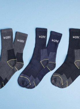 Worker-Socken, 6 Paar