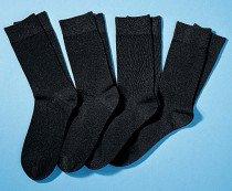 H-City-Socken 4er-Set schwarz 4749 010 - 1 - Ronja.ch