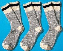H-Worker-Socken,3er-Set,ecru 4749 009 - 1 - Ronja.ch