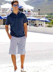 H-Bermuda-Shorts,Gurt,marin/we S 389 - 1 - Ronja.ch