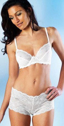 D-Panty,Voll-Spitze weiss 36 001 - 1 - Ronja.ch